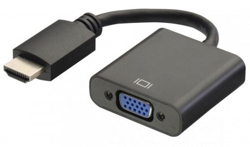 Conver. HDMI AM -> VGA HDB15 H 1080p + Audio Ewent