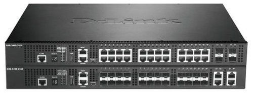 Switch 20x 10GBASE-T + 4x 10GBASE-T-SFP + Combo Port DLink