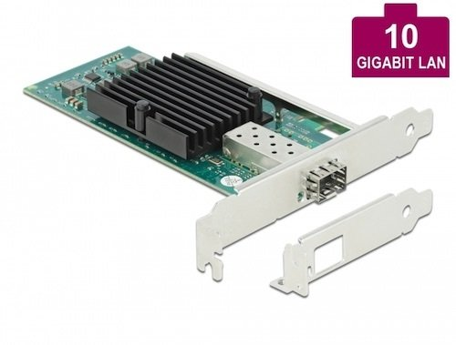 Tarj. 1x SFP+ 10 Gigabit PCI Express x8 V2.0 Intel 82599EN Delock