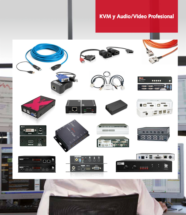 KVM y Audio/Video Profesional - Descargate el pdf